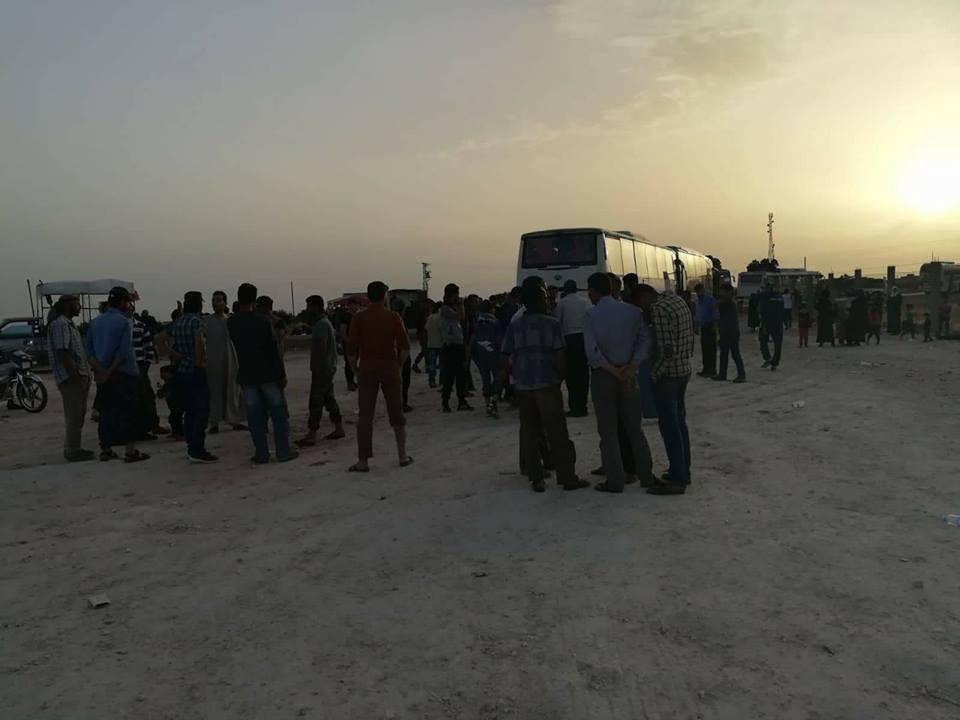 استقبلهم الرصاص، اوضاع انسانية قاسية للمهجرين من جنوب دمشق إلىالشمال