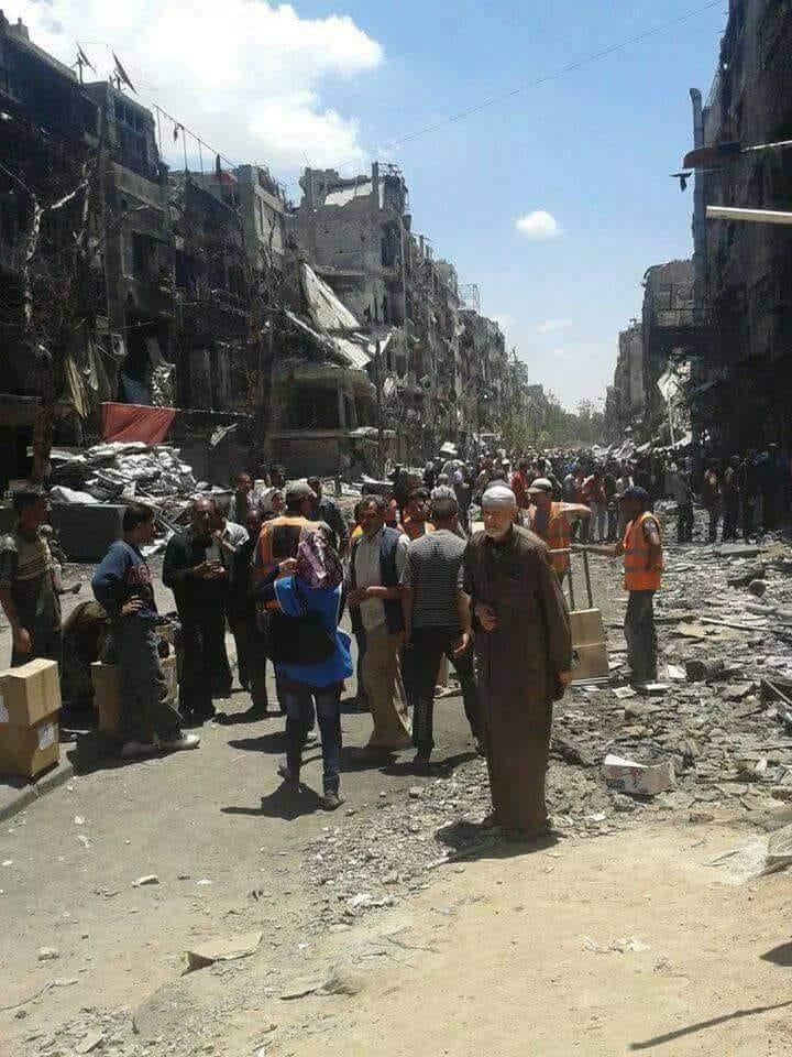 الخميس القافلة الأولى، 17 ألف سوري يغادرون جنوبدمشق